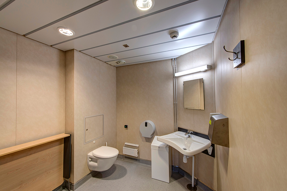 Crew bathroom