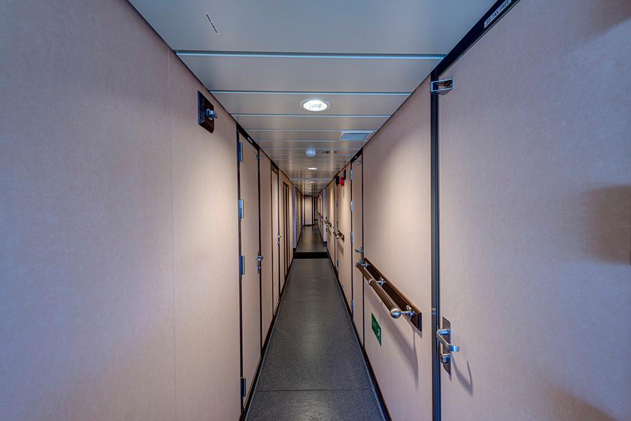 Crew corridor